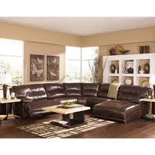 Marlo Furniture Sectional Sofa by Ashley Furniture Exhilaration Sectional In Chocolate Space