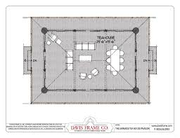japanese tea house plans and floor layout davis frame co