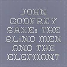 Blind Men And The Elephant Story For Children 11 Best Blind Men And The Elephant Images On Pinterest The