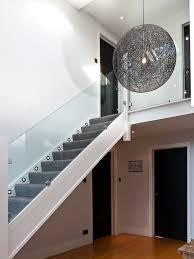 Glass Staircase Banister Glass Banister Houzz
