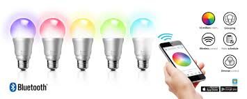 Small Led Light Bulb by Iluv Introduces New Rainbow7 Smartphone Controlled Multicolor Led