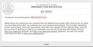 nvc case status