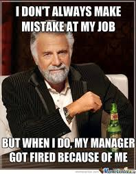 Meme Manager - i feel guilty to my manager by mrwedi meme center