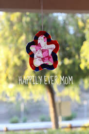 melted pony bead and tissue paper suncatcher happily ever mom