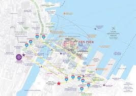 Map Of Boston Harbor by Access Map Fan Pier Boston