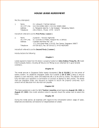 Rental House Lease Agreement Template Example Lease Agreement Rental Agreement Template Jpg Loan