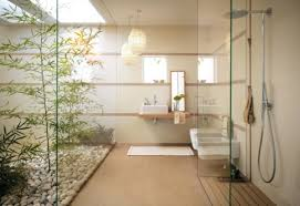 courtyard design bathroom modern bathroom courtyard design with bamboo tree on