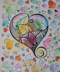 230 best zentangle watercolors images on pinterest mandalas