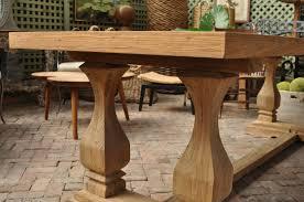 reclaimed teak dining table mecox gardens