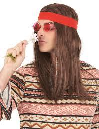 bandana hippie perruque pirate ou hippie avec bandana adulte deguise toi achat