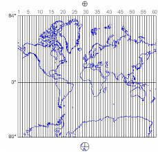 utm zone map 21 the utm grid and transverse mercator projection the nature