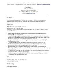 What To Put In Objective Of Resume Download Objective For Resumes Haadyaooverbayresort Com