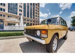 1978 land rover range rover for sale classiccars com cc 876066