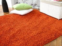 teppich 300 x 400 hochflor langflor teppich shaggy nova orange teppiche hochflor