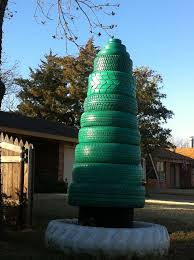 31 best christmas recycled tires images on pinterest recycled