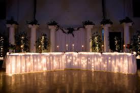 Bride And Groom Table Decoration Ideas Head Table Wedding Decoration Ideas Elegant Wedding Head Table