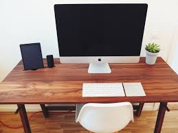 minimalist computer desk home design