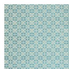 Area Rug Aqua Ruggable Woven Aqua Blue White Indoor Outdoor Area Rug