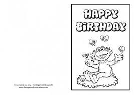 free printable birthday cards the organised
