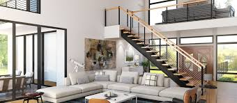 Living Room With Stairs Design Improve Your Home With A Spiral Staircase Paragon Stairs
