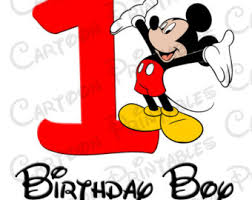 mickey mouse 1st birthday mickey mouse clipart birthday boy pencil and in color mickey mouse