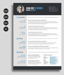clean word resume cv resume templates creative market