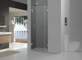 Contemporary Bathroom Design Bathroom Mesmerizing Bathroom Design With Dreamline Shower Doors