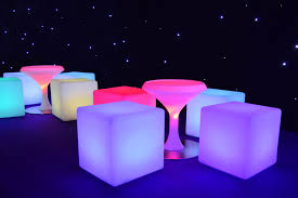 led sphere hire in leicestershire from premier events