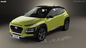 360 view of hyundai kona 2018 3d model hum3d store