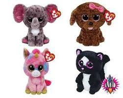 ty beanie boo babies plush soft toy tags maddie specks
