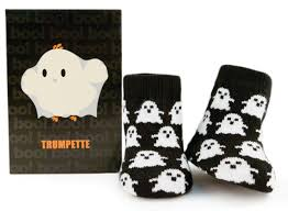 boo baby socks brights trumpette
