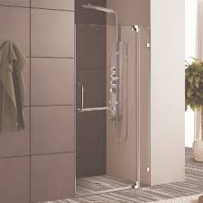 36 Shower Doors Vigo Vg6042chcl36 36 Inch Frameless Shower Door