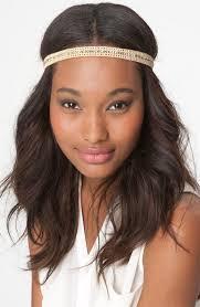 headband across forehead turning hair accessory trends