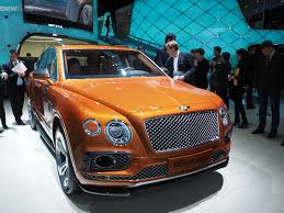 orange bentley bentley bentayga