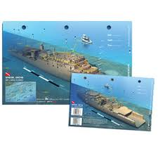 florida shipwrecks map arttomedia 3d shipwreck card dive map florida