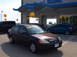 shane mcbryde used 2001 honda civic brown car new orleans slidell