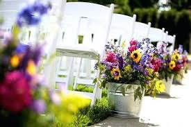 diy outdoor wedding aisle decorations image source wedding