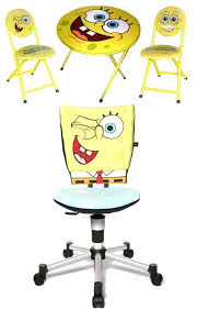 Spongebob Chair Sponge Bob Themed Chair And Table Image Photos Pictures Ideas
