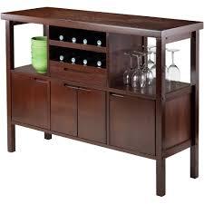 Sideboard For Dining Room Winsome Diego Buffet Cabinet Side Board Walnut Walmart Com