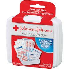johnson u0026 johnson red cross first aid kit walmart com