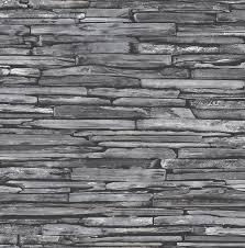 Graue Wand Und Stein Tapete Stein Optik Wand Rasch Textil Anthrazit 022352