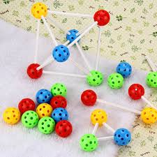 diy indoor games colorful plastic diy insert beads toy 3d games puzzle ball magic