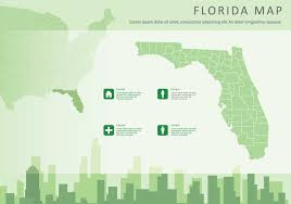 free map free florida map illustration free vector stock
