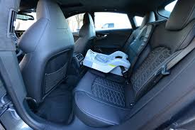 audi a7 rear legroom child seats in rs7