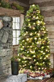 christmas holiday charm rustic farmhouse christmas tree and
