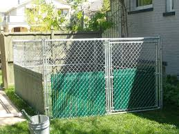 dog chain link fence tractor supply fence ideas diy dog chain