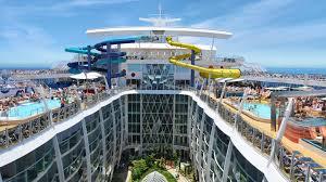 worlds largest cruise ship royal caribbean harmony of the seas