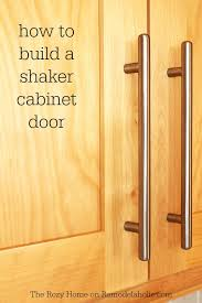 how to build a wood cabinet with doors how to make a shaker cabinet door remodelaholic bloglovin