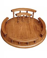 Dining Room Table With Lazy Susan best amish dining room sets u0026 kitchen furniture
