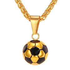necklace gift images 2018 world cup sporty necklace football pendant with chain jpg